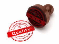quality tested & approved